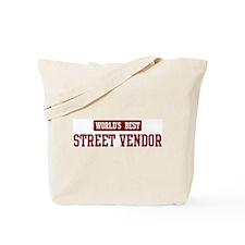 Worlds best Street Vendor Tote Bag