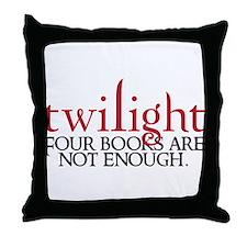 Cute Stephenie meyers twilight saga Throw Pillow