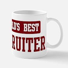 Worlds best Recruiter Small Small Mug