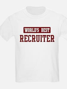 Worlds best Recruiter T-Shirt