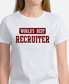 Worlds best Recruiter Tee