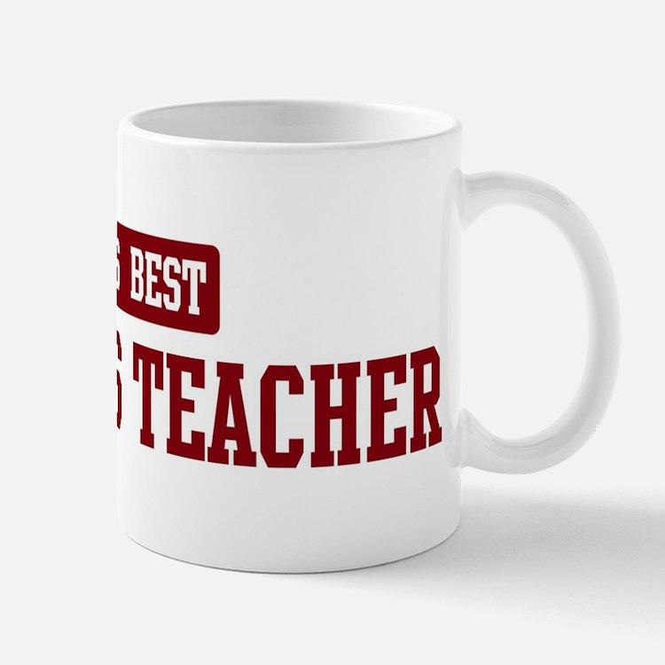 Worlds best Statistics Teache Mug