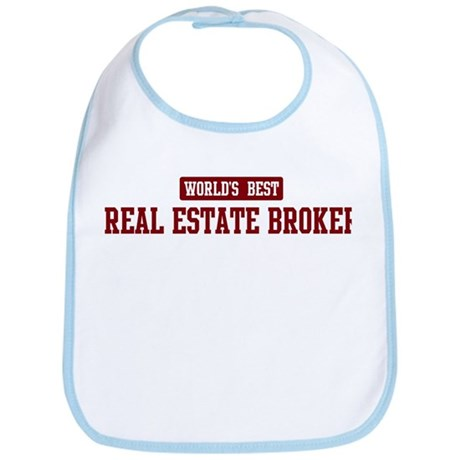 Worlds best Real Estate Broke Bib