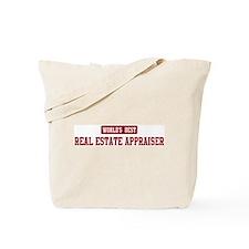 Worlds best Real Estate Appra Tote Bag