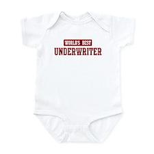 Worlds best Underwriter Infant Bodysuit