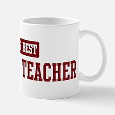 Worlds best Sociology Teacher Mug