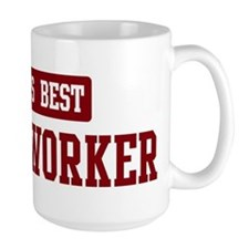Worlds best Social Worker Mug