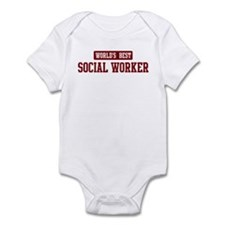 Worlds best Social Worker Infant Bodysuit