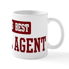 Worlds best Travel Agent Small Mug
