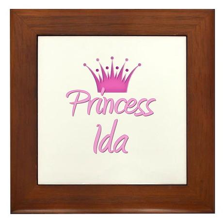 Princess Ida Framed Tile