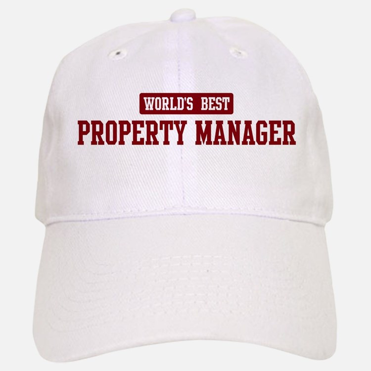Worlds best Property Manager Baseball Baseball Cap