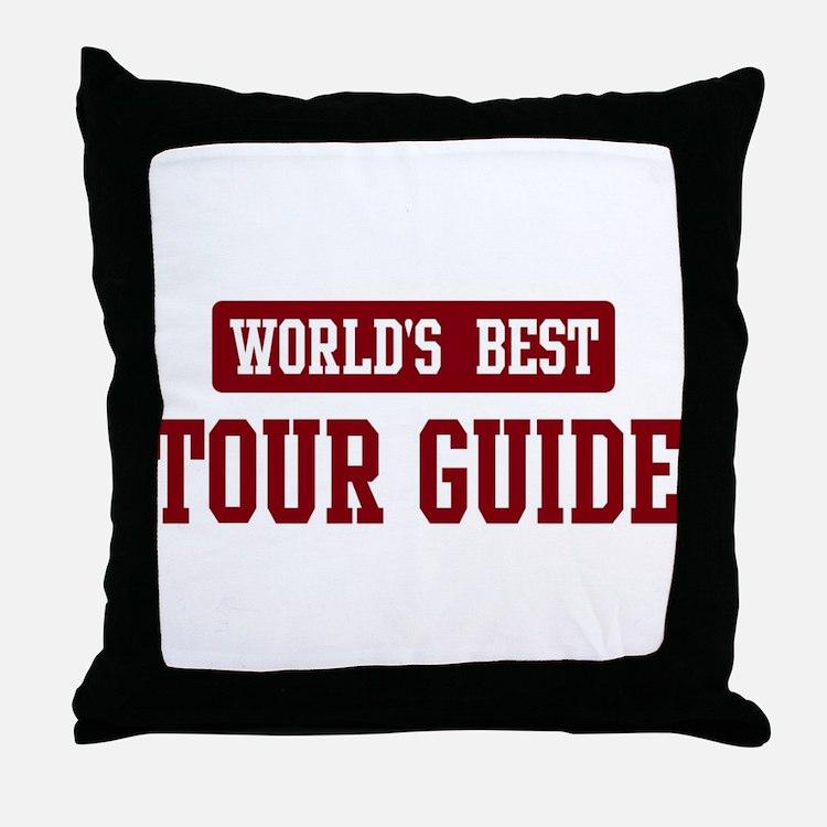 Tour Guide Pillows, Tour Guide Throw Pillows & Decorative Couch Pillows