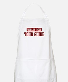 Worlds best Tour Guide BBQ Apron
