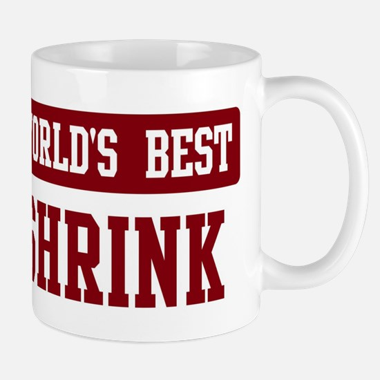 Worlds best Shrink Mug