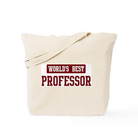 Worlds best Professor Tote Bag