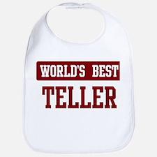 Worlds best Teller Bib