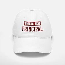 Worlds best Principal Baseball Baseball Cap