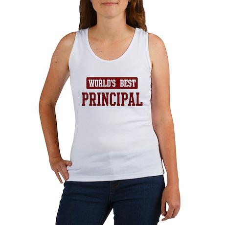Worlds best Principal Women's Tank Top