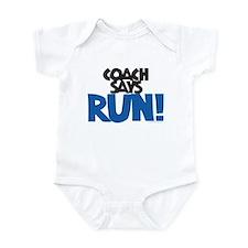 Coach says: Run! Infant Creeper