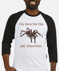 """job interview"" Baseball Jersey"