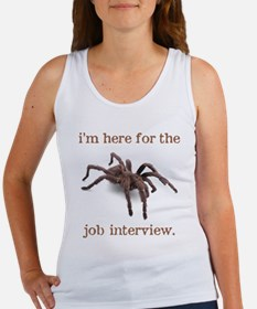 """job interview"" Women's Tank Top"