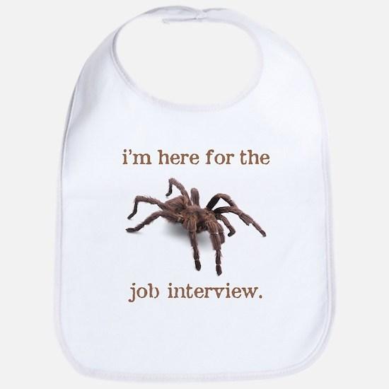 """""""job interview"""" Bib"""