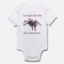 """job interview"" Infant Creeper"