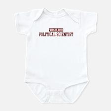 Worlds best Political Scienti Infant Bodysuit