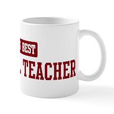 Worlds best Paralegal Teacher Small Mug