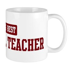 Worlds best Paralegal Teacher Small Mugs