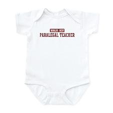 Worlds best Paralegal Teacher Infant Bodysuit
