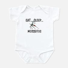Eat ... Sleep ... MOSQUITOS Infant Bodysuit