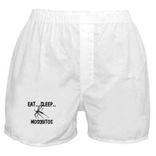 Eat ... Sleep ... MOSQUITOS Boxer Shorts