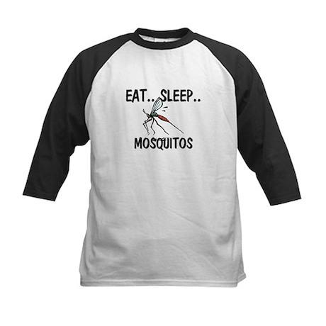 Eat ... Sleep ... MOSQUITOS Kids Baseball Jersey