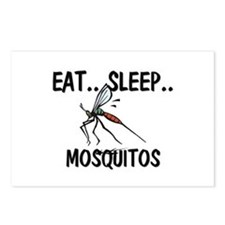 Eat ... Sleep ... MOSQUITOS Postcards (Package of
