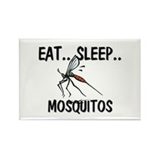 Eat ... Sleep ... MOSQUITOS Rectangle Magnet