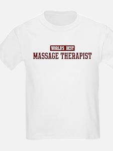 Worlds best Massage Therapist T-Shirt
