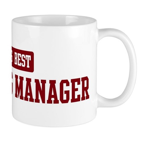 Worlds best Marketing Manager Mug