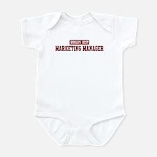 Worlds best Marketing Manager Infant Bodysuit