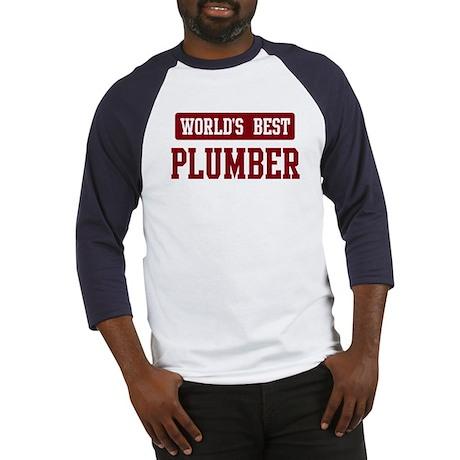 Worlds best Plumber Baseball Jersey