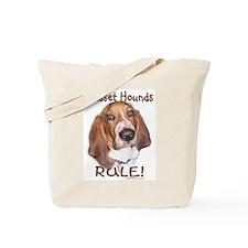 Basset Hounds Rule Tote Bag