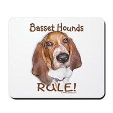 Basset Hounds Rule Mousepad