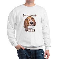 Basset Hounds Rule Sweatshirt