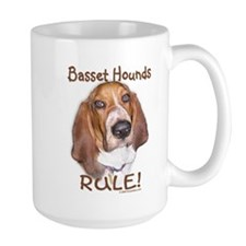 Basset Hounds Rule Mug