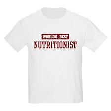 Worlds best Nutritionist T-Shirt