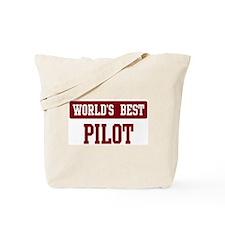 Worlds best Pilot Tote Bag