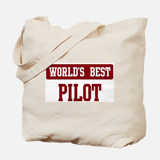 Worlds best Pilot Tote Bag