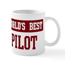 Worlds best Pilot Small Mug