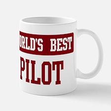 Worlds best Pilot Small Small Mug