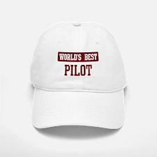 Worlds best Pilot Baseball Baseball Cap